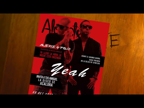Alexis y Fido - Alocate (Lyric Video)
