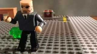the superman chronicles ep 4 lex luthor kryptonite minimates stopmotion superman the moviev