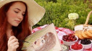 ASMR Morning Picnic & Portrait