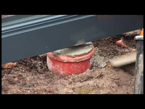 Gewächshausaufbau  Madeira Gewächshaus Aufbauanleitung Teil 3