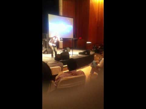 Loyiso performing Jesus to the world