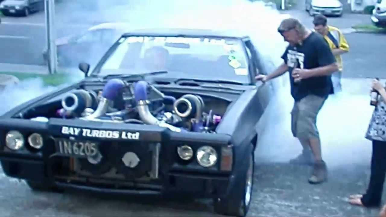 Courtney Rd Tauranga 2011 Twin Turbo V8 1977 Holden