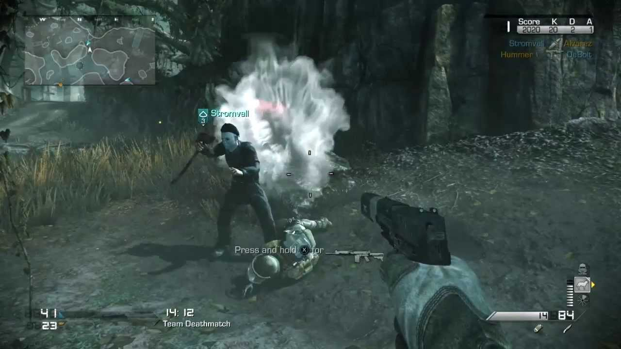 Michael Myers Killing And Dying In Call Of Duty Ghosts