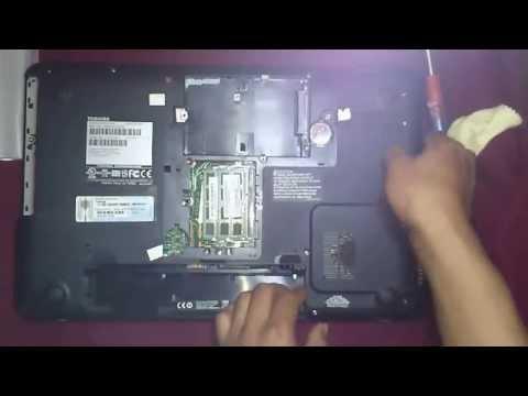 Desarmar Laptop Toshiba Satellite Pro s855 2014-2013