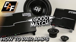 Pair amplifiers CORRECTLY - Power Balancing Car Audio