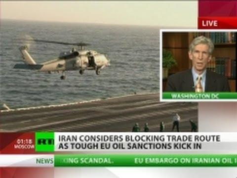 Strait Answer: Iran prepares to close Hormuz