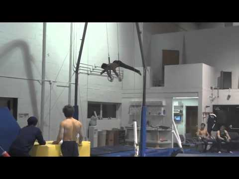Olympic Hopeful Sam Mikulak - Gym Progress 12-2-2011
