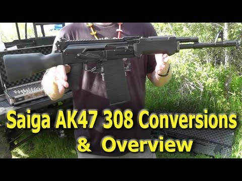 Saiga 308 AK47 Conversion - Overview