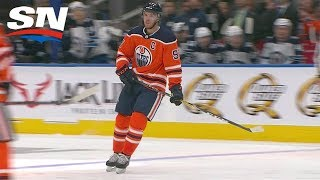 Connor McDavid Scores Top Shelf After Using Ridiculously Quick Deke