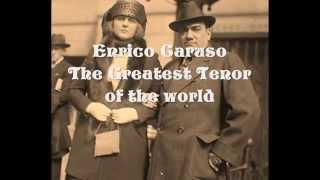 "Enrico Caruso. He sings (live) in concert""Celeste Aida"" Enjoy This!"