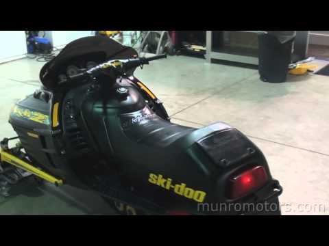 1999 Ski Doo Mach Z 800 Triple FAST!!!!! Skidoo used snowmobile for sale Brantford. Ontario