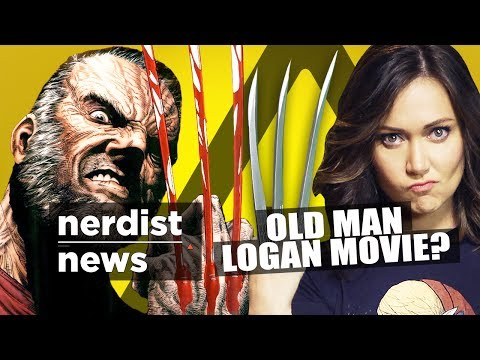 Old Man Wolverine Movie? & More! (nerdist News W  Jessica Chobot) video