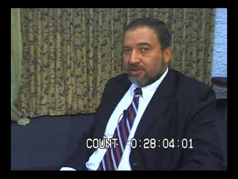 NEVER A BORING DAY IN ISRAEL, INTERVIEW WITH AVIGDOR LIEBERMAN (2005, ISRAEL)