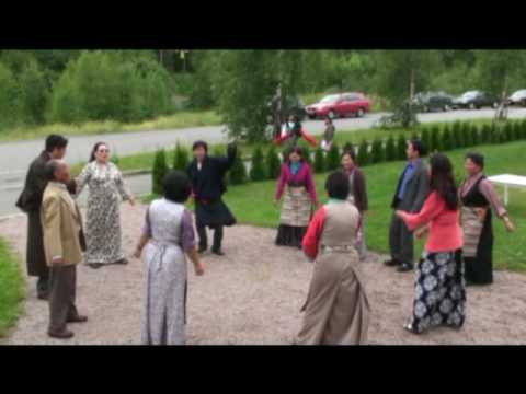 Tibetan dance in Norway