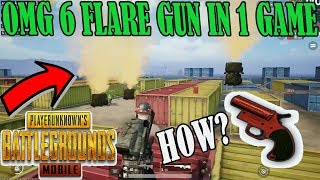 OMG 6 FLARE GUN AND 10 AIRDROP IN ONE GAME HOW? | BEST MOMENT IN PUBG MOBILE | MUST WATCH