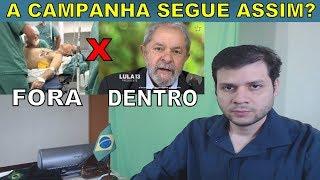 Só o povo coloca Bolsonaro na campanha eleitoral com a internet.
