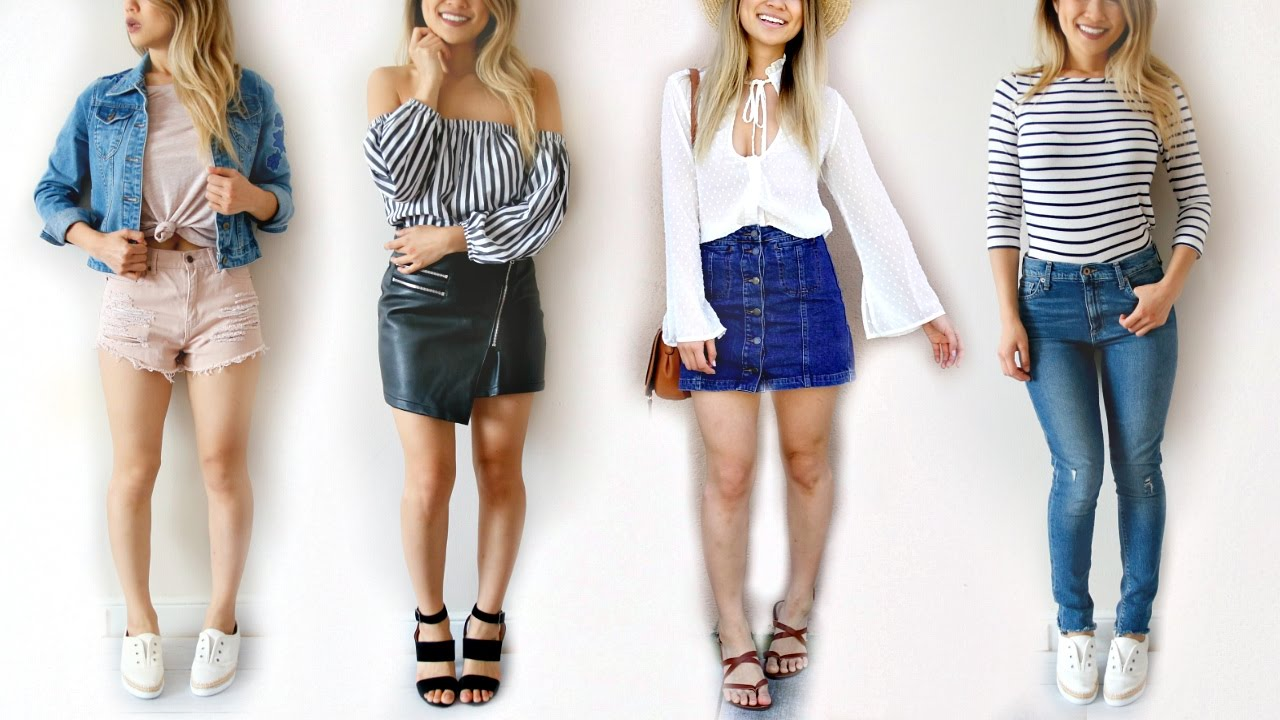 How to Make Any Basic Outfit Look Good! 7 Fashion Hacks!