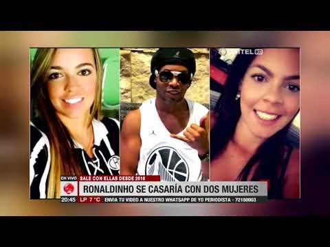 Ronaldinho desmiente que se casará con dos mujeres