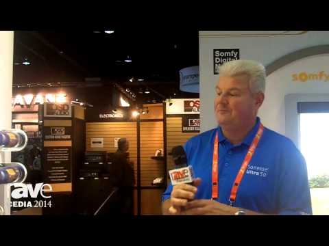 CEDIA 2014: Somfy Introduces Sonesse Ultra Quiet Motors