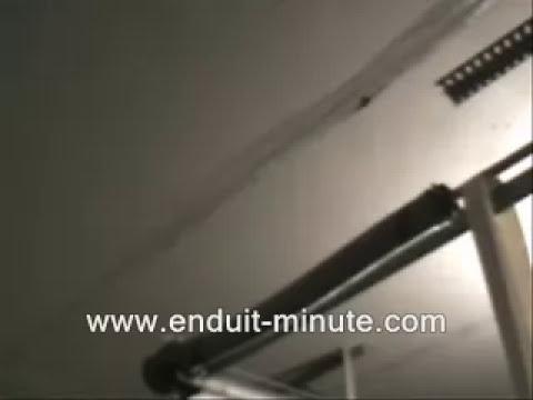 D Mo Technique Bricolage Pose Bande De Joint Au Rouleau Sur Plafond Placoplatre Youtube