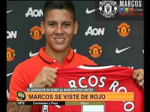 Marcos Rojo ya se sumó al Manchester United - Telefe Noticias