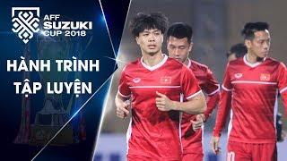 Buổi tập của Đội tuyển Việt Nam trên sân Hàng Đẫy| VFF Channel