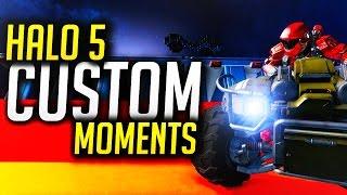 Halo 5 Custom Games: MINI GAMES! (Drag Race/ Doom, Racing, Star Fish, Intense, Fails,  & MORE)