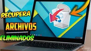 Recupera ARCHIVOS BORRADOS de Windows 10 / SUPER FACIL!