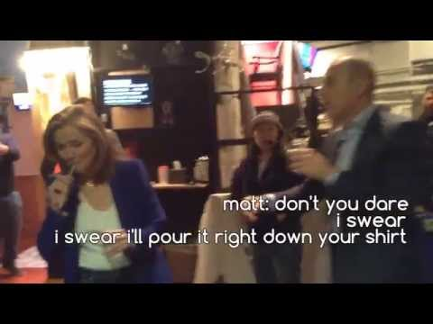 Three Minutes Before a LIVE Show With Matt Lauer! - Web Extra!   The Meredith Vieira Show