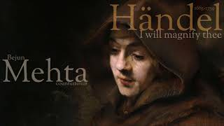 Händel -  I will magnify thee - Bejun Mehta - countertenor