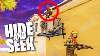 HIDE and SEEK im HEFTIGSTEN VERSTECK! Fortnite Battle Royale