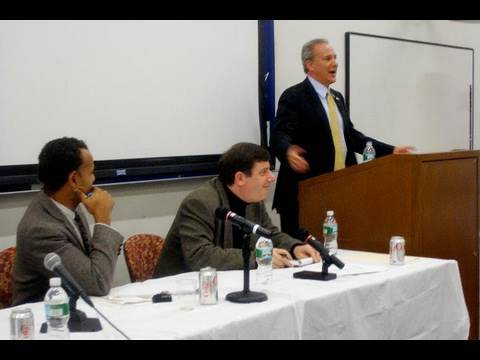 Peter Schiff debates David Epstein of Columbia University -- Nov 11 2009