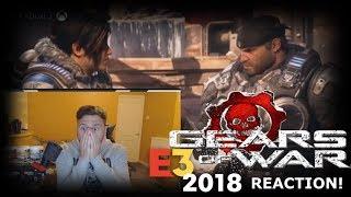 """Gears of War 5 Gameplay Trailer """"REACTION"""" E3 2018 (Gears of War 5 Trailer Reaction Gameplay)"""