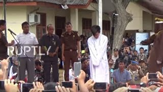 Indonesia: Two men caned publicly for gay sex in Banda Aceh