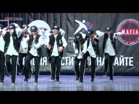 RE-ACTION  ТАНЦЫ УЛИЦ 2016 Junior