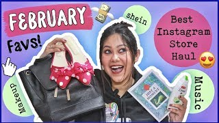 FEBRUARY FAVS 2019 + Instagram Store Jewellery Haul |ThatQuirkyMiss
