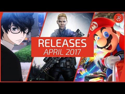 Neue SPIELE im April 2017 - RELEASES für PC, PS4, Xbox One, Switch & 3DS │Frisch aufgetischt