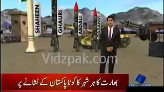 Pakistan's missiles can strike each and every corner of India   SAMAA News Report