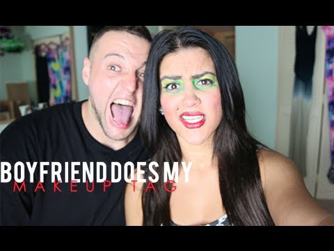 Boyfriend Does My Makeup Tag