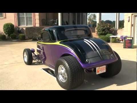 1934 FORD 34 COUPE HOT ROD 434 CHEVY SCHMIDT RACING 575 HP FOR SALE