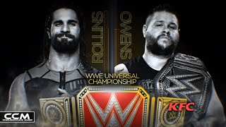 Kevin Owens vs. Seth Rollins - WWE Clash of Champions 2016 Official Match Card