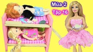 """Phim """"Cuộc Sống Barbie Ken"""" {Mùa 2} Tập 16 Barbie Ken Mùa Giường Đôi Cho Con {Bí Đỏ} Barbie's Story"""