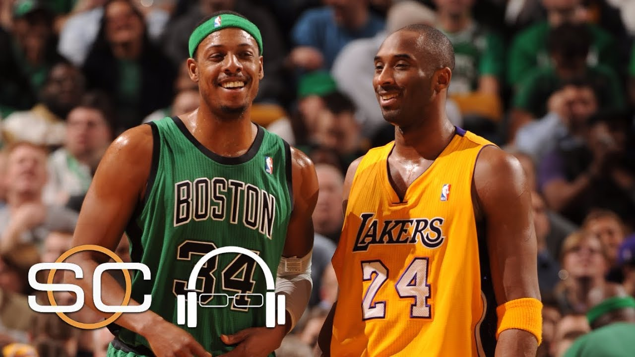 Paul Pierce looks back at memorable moments with Kobe Bryant | SC with SVP | ESPN
