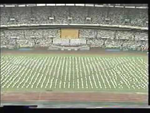 Seoul 1986 Asian Games Opening Ceremony