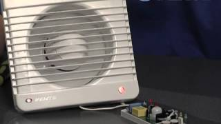 Control unit for axial fan