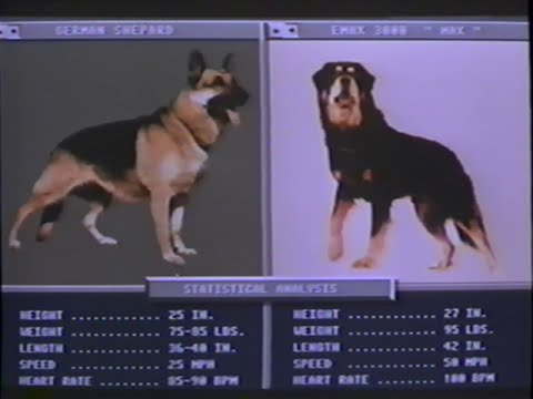 Man's Best Friend (1993) Trailer (VHS Capture)