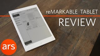 The reMarkable paper tablet: An e-reader you can write on | Ars Technica