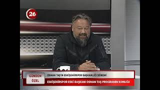 Gündem Özel | Osman Taş Mihallıççıkspor Başkanı