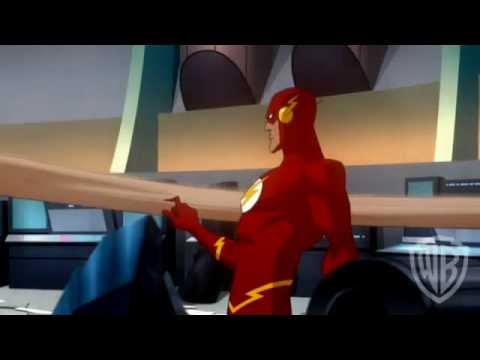 Justice League-Crisis on Two Earths-Crime Syndicate Fight Clip