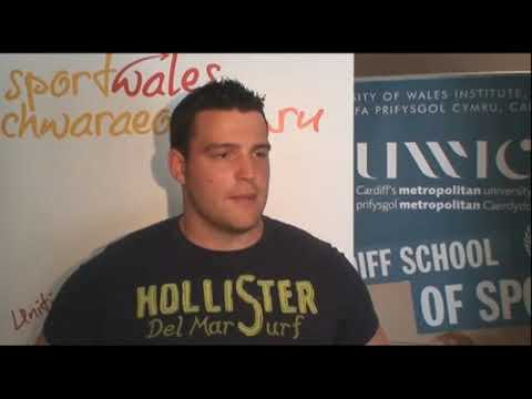 British discus champ Brett Morse on SportingWales Rising Star Awards